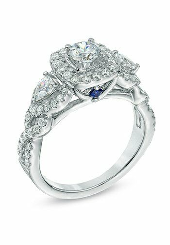 Vera Wang Love At Zales Vera Wang Love Collection 1 3 8 Ct