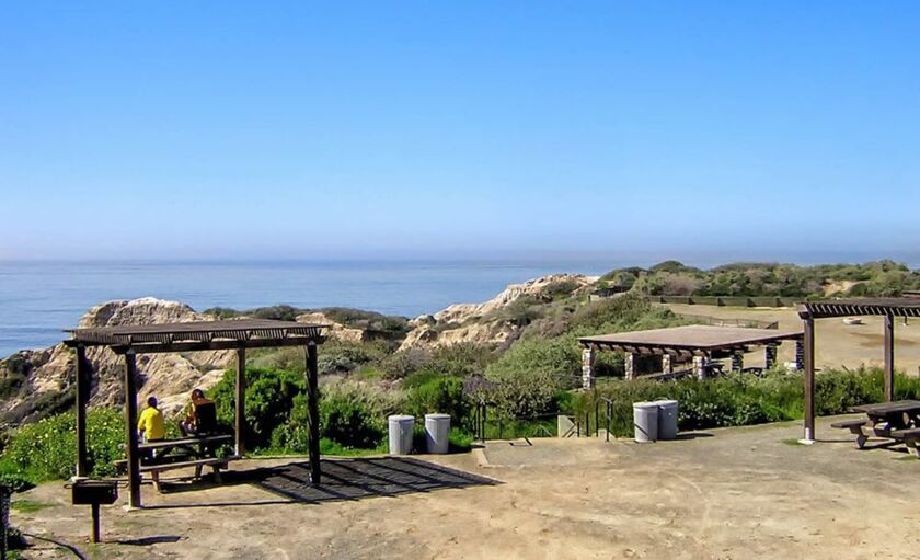 The Wedding Venue Is Located On San Clemente State Beach Campgrounds Feel Free To Browse Some Camping Options That Are Only A Stumbling Distance Away