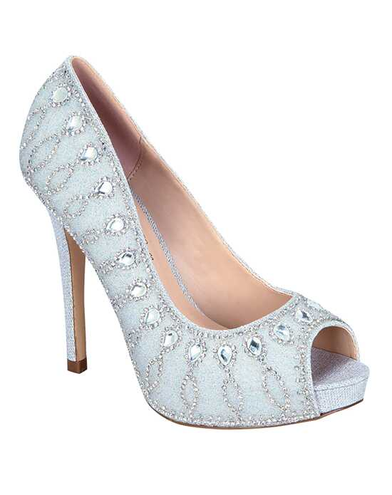 De Blossom Collection Darling-29 Silver Shoe