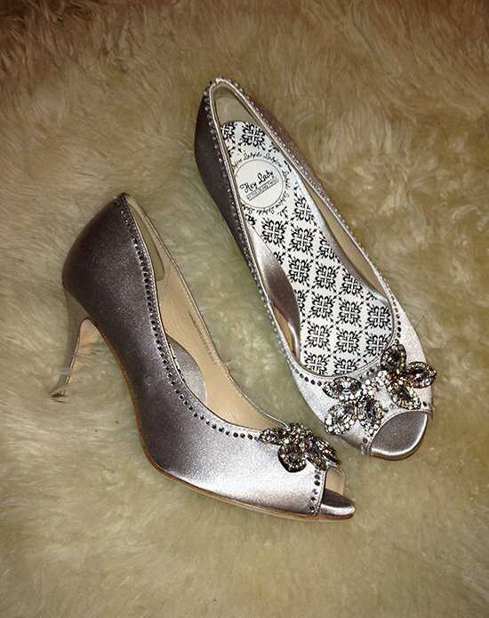 Hey Lady Shoes Twinkletoes Silver Shoe