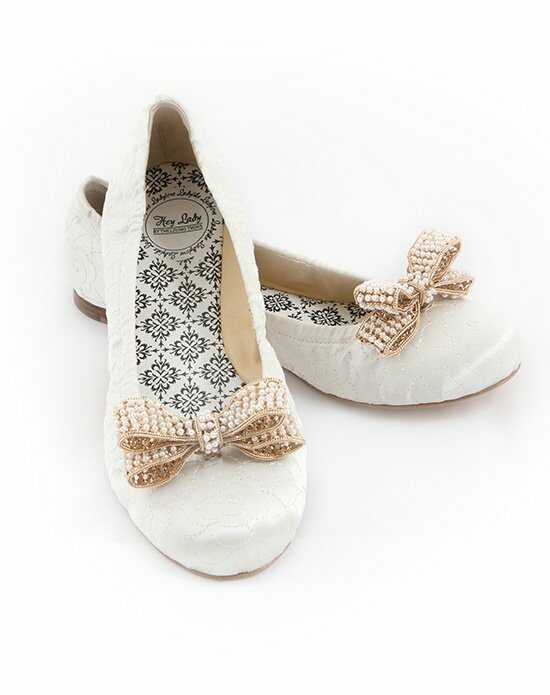 Hey Lady Shoes Smitten w/little pearl bow Shoe