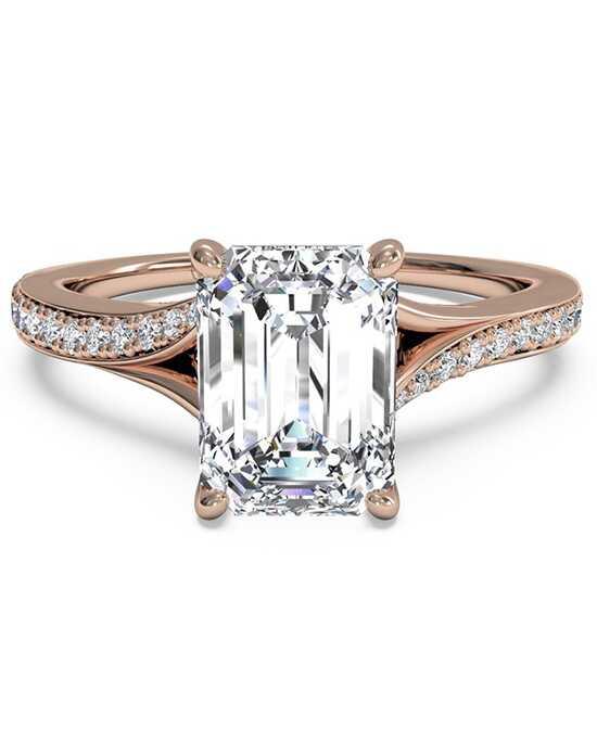 modern bride signature certified diamond rose gold bridal ring prodjump
