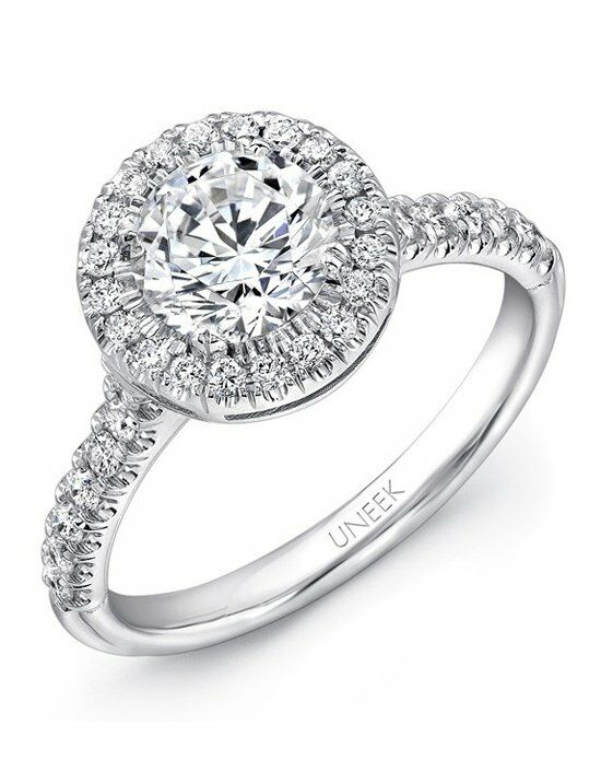 Uneek Fine Jewelry USM020RD-6.5RD Engagement Ring - The Knot