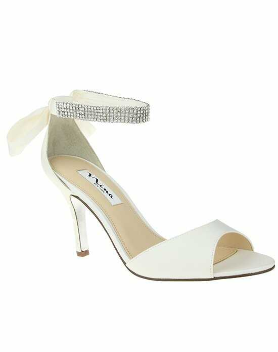 Nina Bridal Wedding Accessories VINNIE_IVORY Ivory Shoe