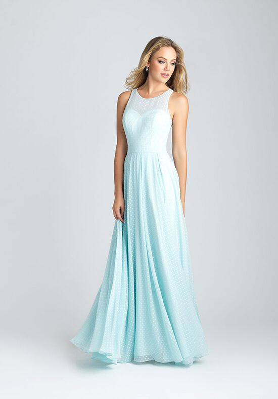 Allure Bridesmaids 1542 Illusion Bridesmaid Dress