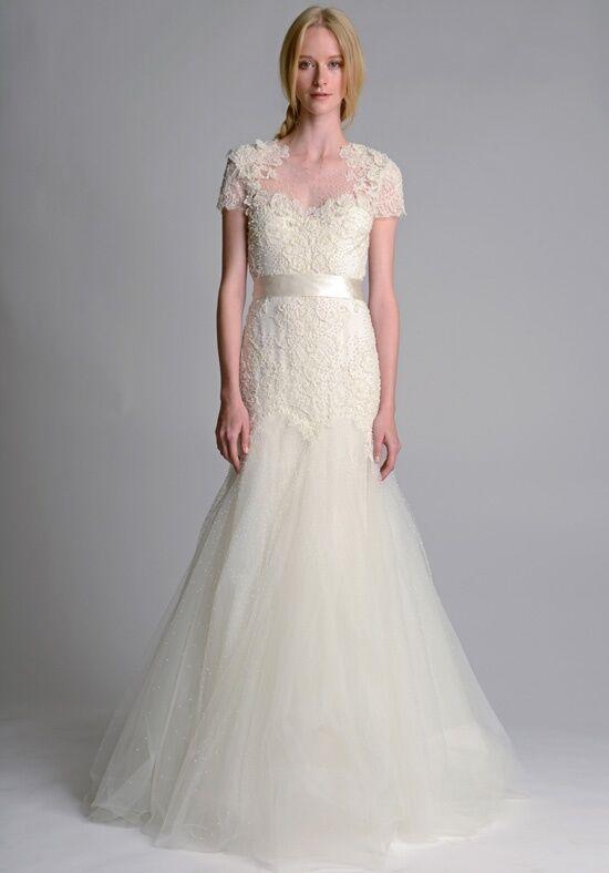 Marchesa b10817 wedding dress the knot for Marchesa wedding dress prices