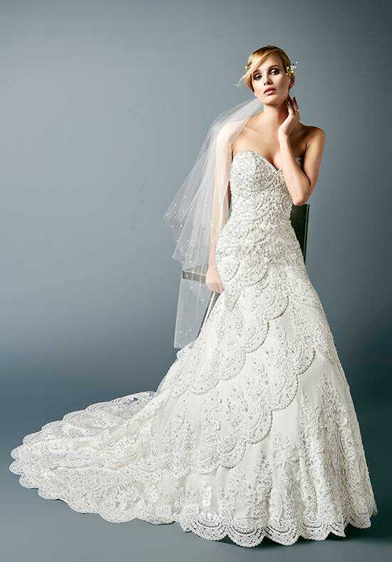 Val Stefani MCKENNA Mermaid Wedding Dress