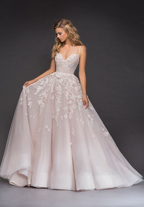 Hayley Paige 6814 Arden Ball Gown Wedding Dress