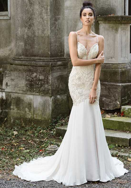 Justin Alexander Signature 9876 Mermaid Wedding Dress