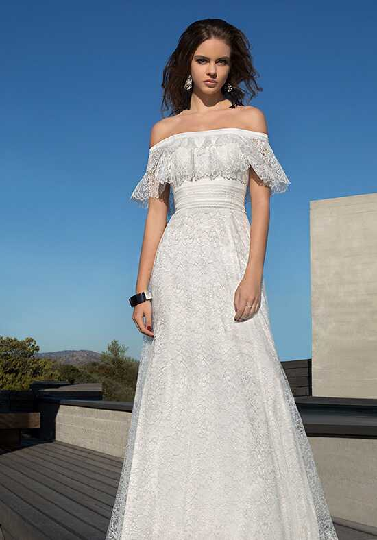 Metropolitan ME132 A-Line Wedding Dress