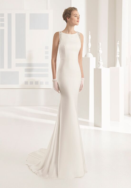 Rosa Clará Nika Sheath Wedding Dress