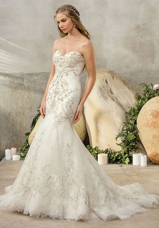 Casablanca bridal 2205 wedding dress the knot for Heart shaped mermaid wedding dresses