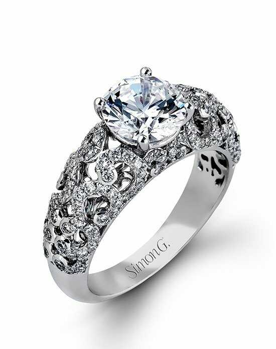 Simon G. Jewelry DR306 Engagement Ring photo