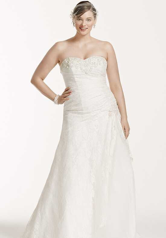 David's Bridal David's Bridal Woman Style 9YP3344 A-Line Wedding Dress