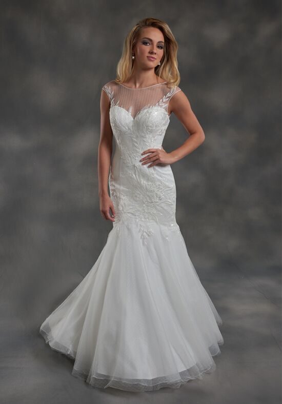 1 Wedding by Mary's Bridal 2673 Mermaid Wedding Dress