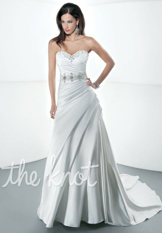 Demetrios 4307 A-Line Wedding Dress