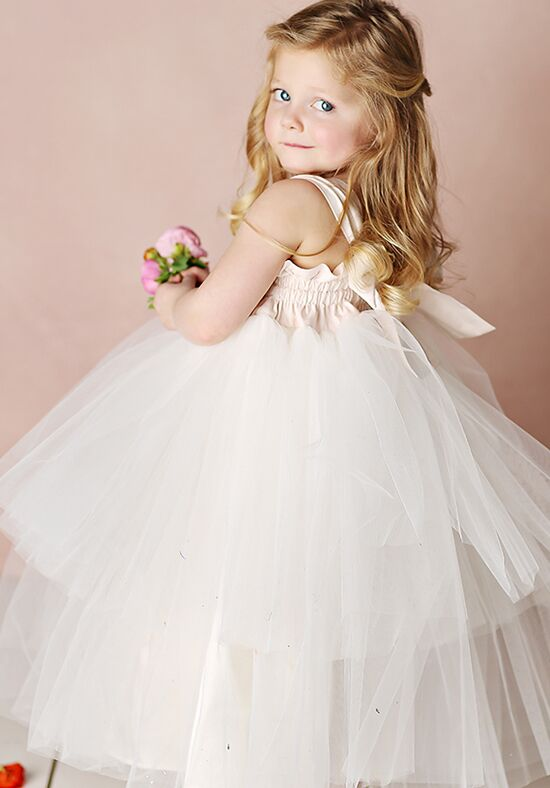 FATTIEPIE Katherine Ivory Flower Girl Dress