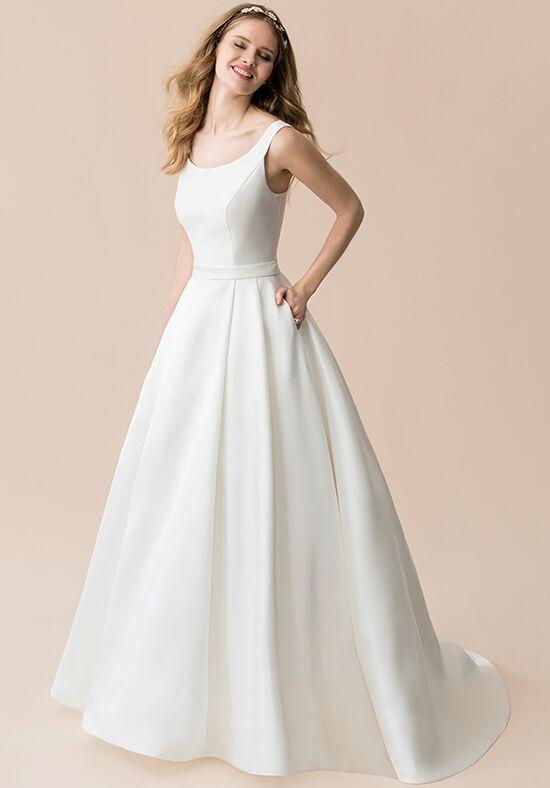 Flowy Tulle Wedding Dress