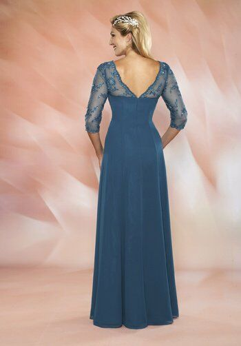 Beautiful Mothers by Mary's M2428 Black Mother Of The Bride Dress