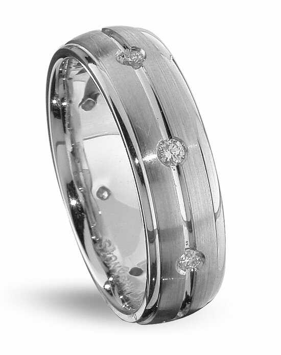TRUE KNOTS TRUE MAN-DW207 Palladium,Platinum,White Gold Wedding Ring