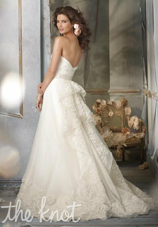 Jim Hjelm JH8002 A-Line Wedding Dress