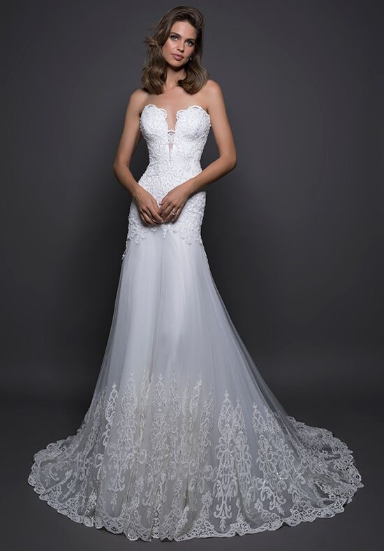 LOVE by Pnina Tornai for Kleinfeld 14569 Sheath Wedding Dress