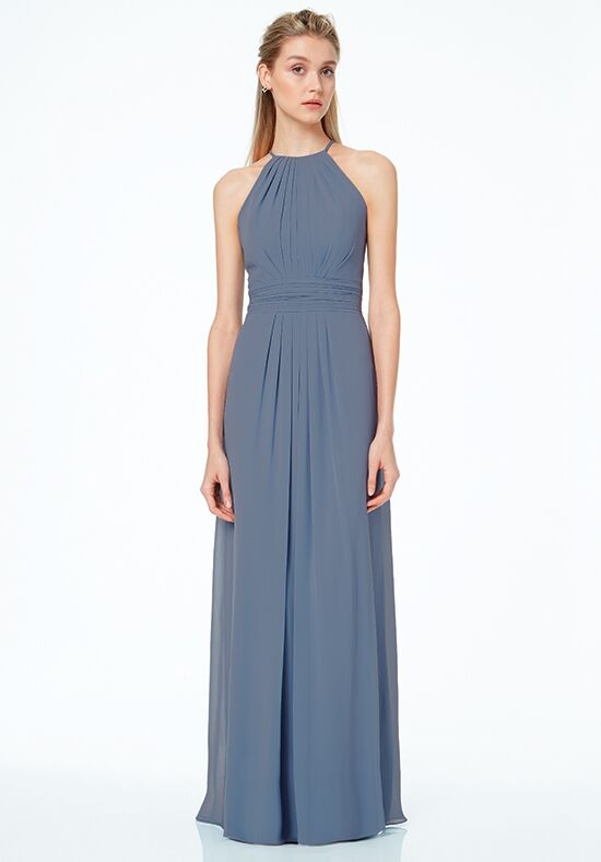 #LEVKOFF 7042 Scoop Bridesmaid Dress