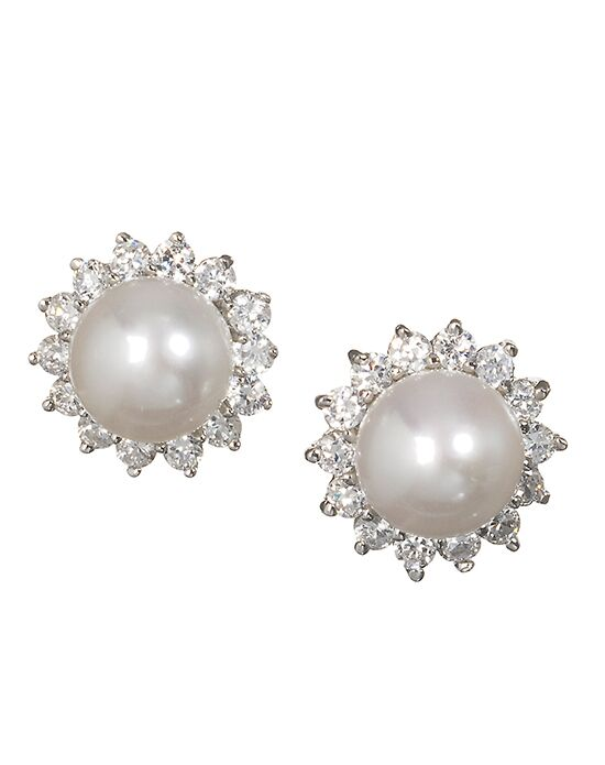 Anna Bellagio AMINA BRIDAL PEARL AND CRYSTAL EARRING Wedding Earring photo