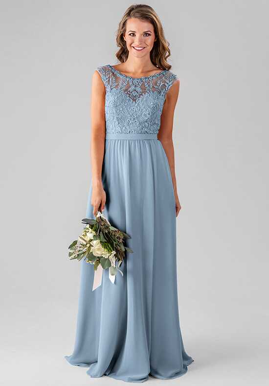 Kennedy Blue Kinsley Bateau Bridesmaid Dress