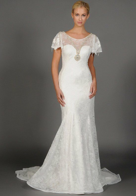 "Eugenia ""Eliza"" Style 3919 Sheath Wedding Dress"