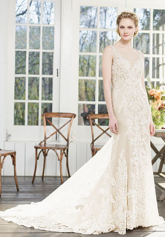 Casablanca Bridal 2261 Poinsettia Sheath Wedding Dress