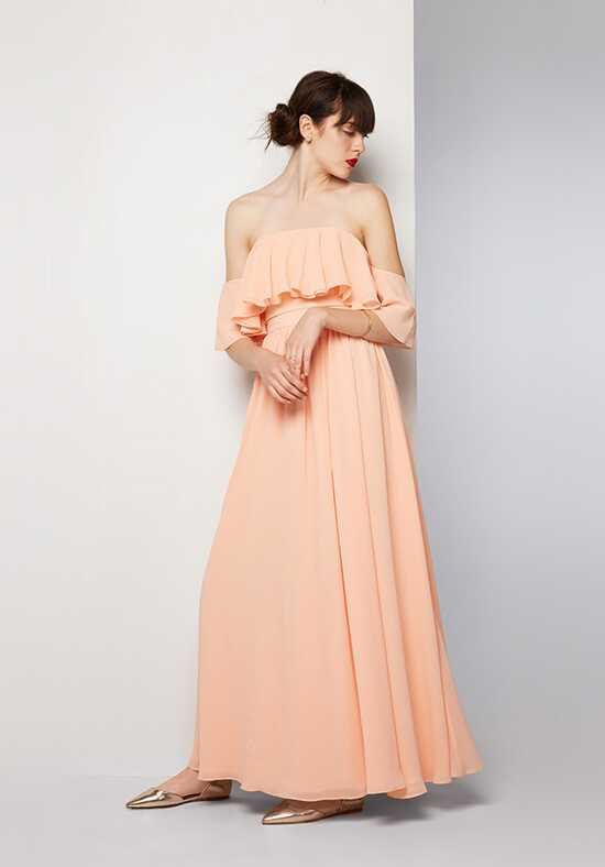 Fame and Partners Bridesmaid Eveleigh Off the Shoulder Bridesmaid Dress