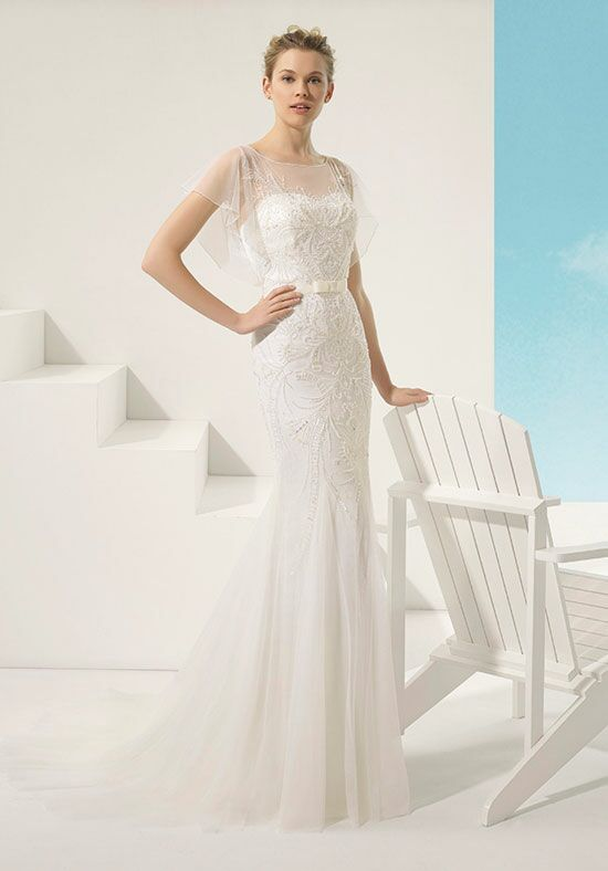 Soft by Rosa Clará Vangogh Mermaid Wedding Dress