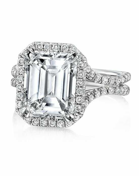 Uneek Fine Jewelry Emerald Cut Engagement Ring