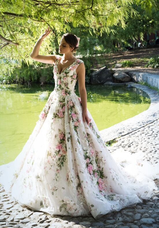 Ysa Makino KYM157 A-Line Wedding Dress