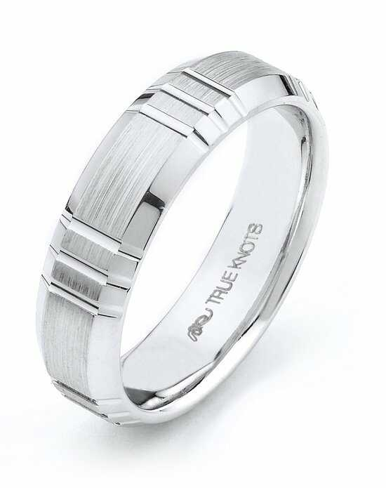 TRUE KNOTS True Man - 490DCW Palladium,Platinum,White Gold Wedding Ring