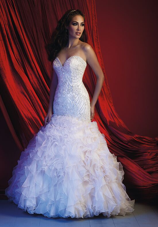Allure Couture C364 Mermaid Wedding Dress