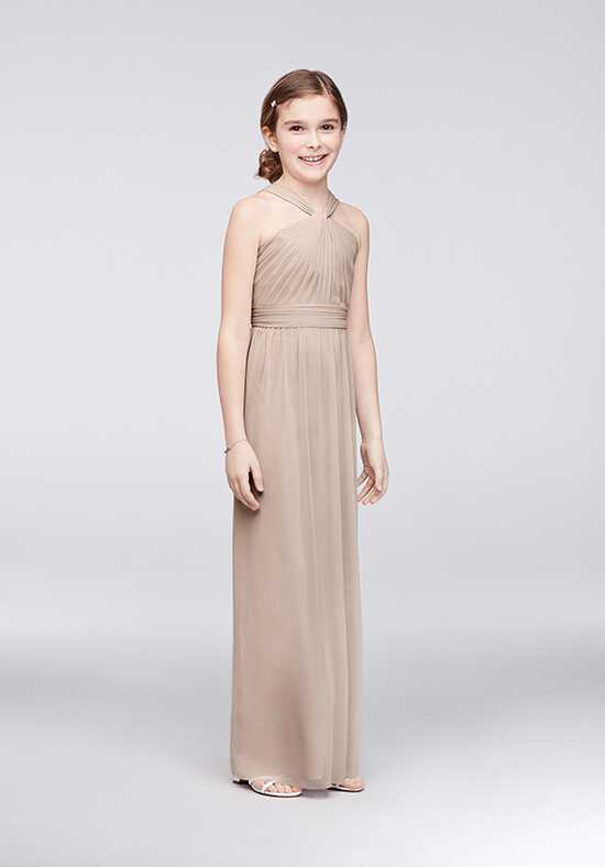 David's Bridal Junior Bridesmaids David's Bridal Style JB9597 Halter Bridesmaid Dress