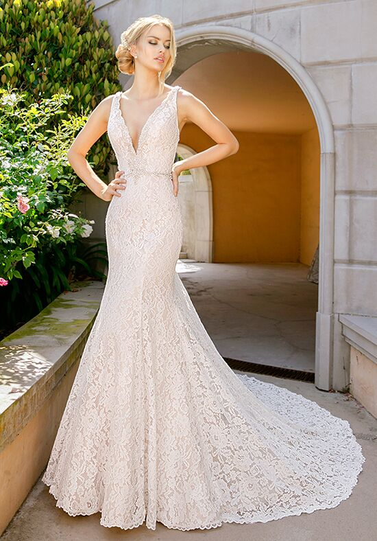 Moonlight Couture H1343 Mermaid Wedding Dress