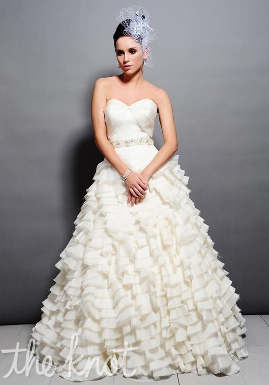 Saison Blanche Couture 4165 Ball Gown Wedding Dress