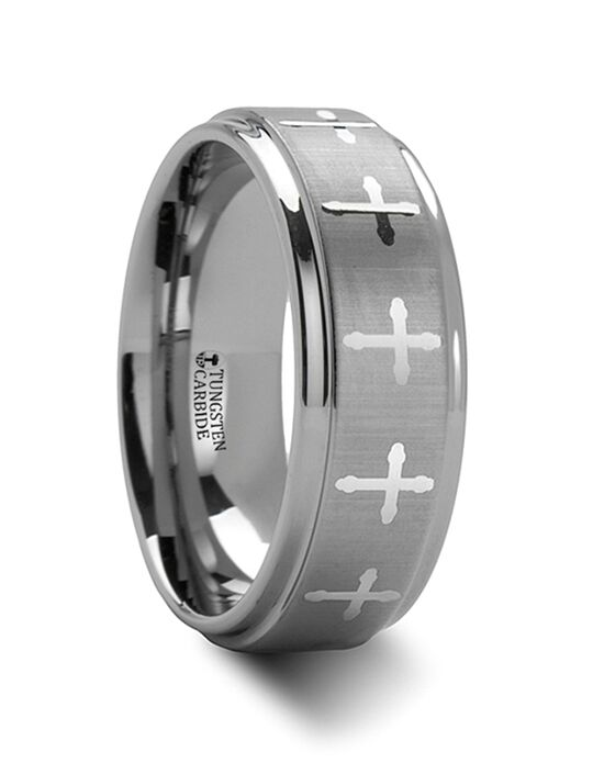 Mens Tungsten Wedding Bands W283-LE3 Tungsten Wedding Ring