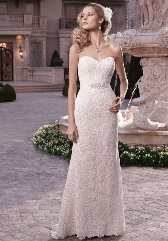 Casablanca Bridal 2131 Sheath Wedding Dress