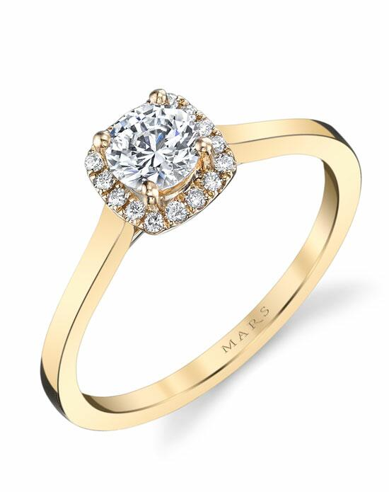 MARS Fine Jewelry Mars Jewelry 25150YG Engagement Ring Engagement Ring photo