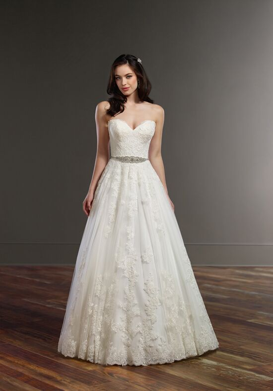 Martina Liana 879 A-Line Wedding Dress