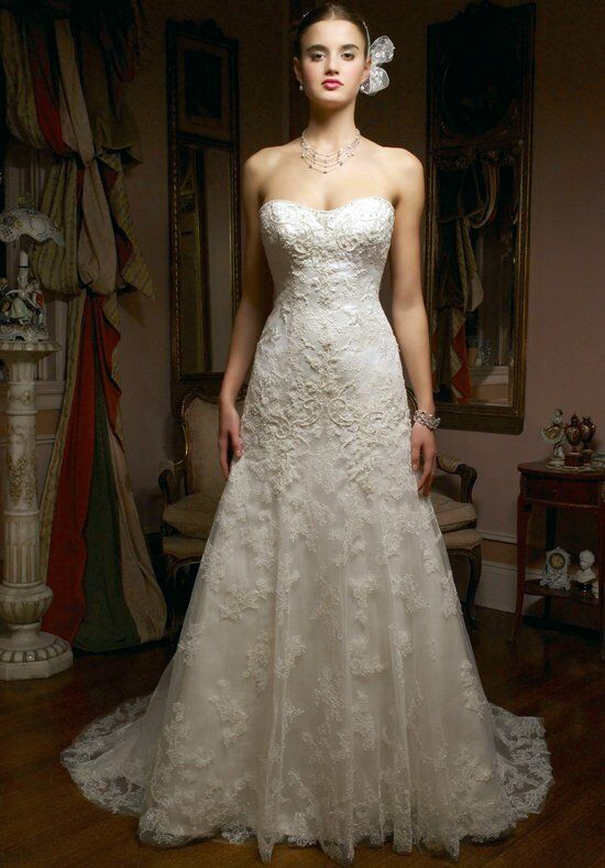 Casablanca Bridal 1827 A-Line Wedding Dress