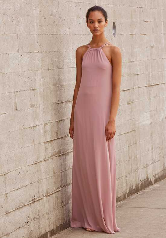 Nouvelle Amsale Bridesmaids Mia Halter Bridesmaid Dress