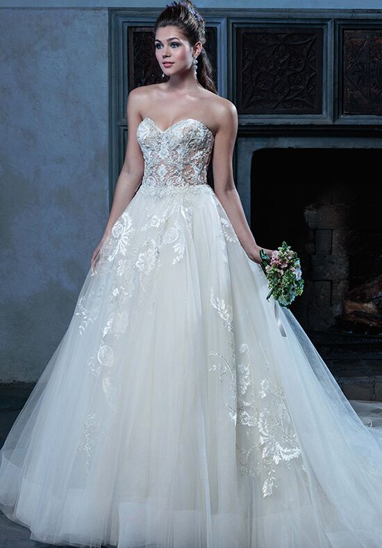 Amaré Couture by Crystal Richard C127 Angelique Ball Gown Wedding Dress