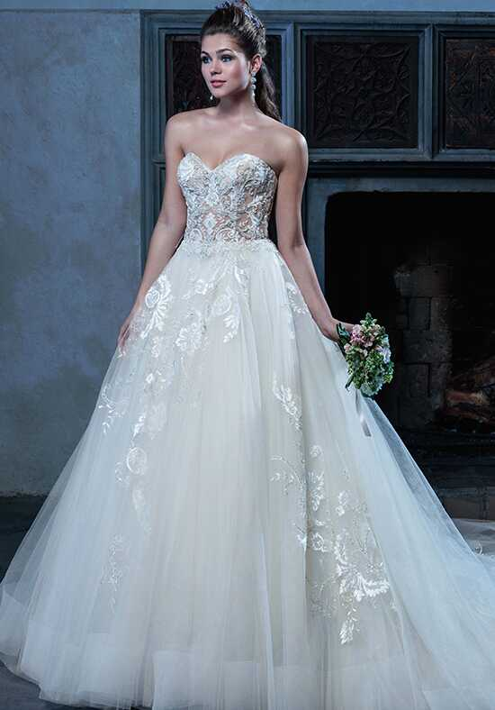 Amaré Couture C127 Angelique Ball Gown Wedding Dress