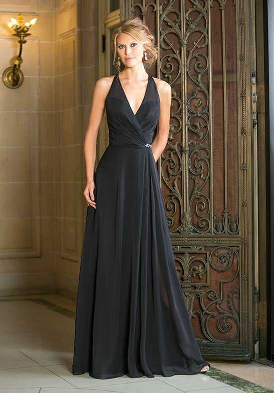 Belsoie L164014 Halter Bridesmaid Dress