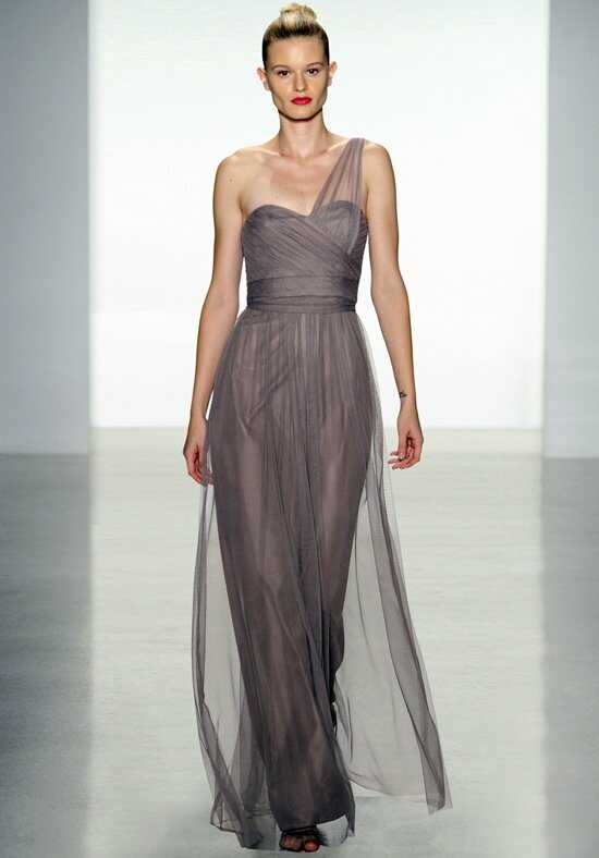 Amsale Bridesmaids G836U One-Shoulder Bridesmaid Dress